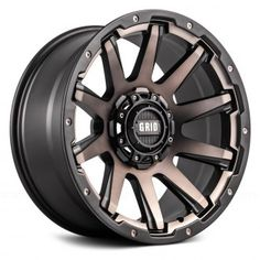 Grid Off-Road™ | Wheels & Rims from an Authorized Dealer — CARiD.com Jeep Wheels, Off Road Wheels, Truck Wheels, Ford Ranger, Bronze Wheels, 4x4, Truck Rims, Jeep Rims, Aftermarket Wheels