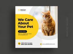 Ads Banner, Banner Template, Social Media Banner, Social Media Design, Case Study Template, Animal Templates, Cute Animal Illustration, Bird Silhouette, Animal Books