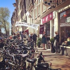 Velvet Records, Amsterdam The marked contrast with the UK is sunshine, a lack of crowds/queues and a very chilled out atmosphere