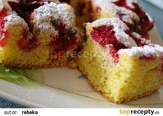 Šlehačková bublanina recept - TopRecepty.cz