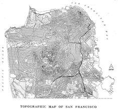 289 best San Francisco • Maps images on Pinterest | San francisco ...