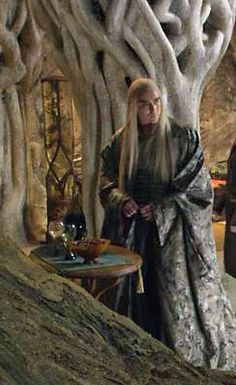 Thranduil; King of the Mirkwood Elves played by Lee Pace in The Hobbit; The…