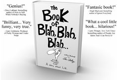 Seriously THE best read I have had in a while ~ Len Foley's The Book of Blah, Blah, Blah...