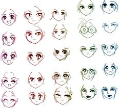 draw romantic manga eye - Cerca con Google