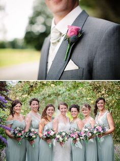 pink and green wedding, image by Lauren Rutherford