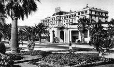 """The Hotel Palacio in Estoril, Portugal, was full of spies from all the belligerents during Ian Fleming planned """"Operation Golden Eye"""" here. Portugal, Golden Eyes, Beautiful Eyes, Lisbon, Ww2, Scenery, Mansions, House Styles, World"""