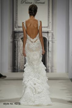 wedding dress www.finditforweddings.com designer Pnina Tornai