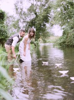 Down by the River styled shoot ~ Heyday Events - Wedding Sparrow | Best Wedding Blog | Wedding Ideas