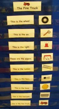 Growing in Pre K - Fire Safety - Snapshots of my Pre-K classroom. Community Helpers Kindergarten, Preschool Literacy, In Kindergarten, Literacy Activities, Fire Safety Week, Fire Prevention Week, Community Workers, Shared Reading, Fire Trucks