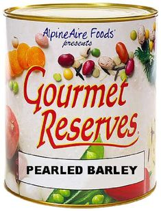 AlpineAire Foods Gourmet Reserves Pearled Barley 10Can *** More info could be found at the image url.(This is an Amazon affiliate link)