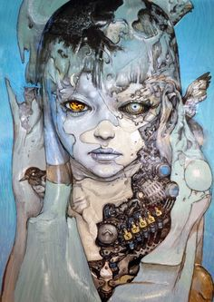 pictures-an-stuff:    Katsuya Terada. Blue. Compound Gallery.
