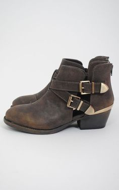 cea8e0e1a8d38 old boots to Ankle Boots idea collecting - with belt ends