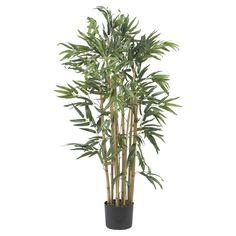 Nearly Natural Multi Bambusa Bamboo Silk Tree | from hayneedle.com