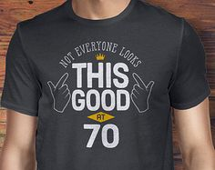 70th Birthday, 70th Birthday Idea, Great 70th Birthday Present, 70th Birthday Gift. 1945 Birthday, 70th Birthday Shirt For a 70 Year Old!