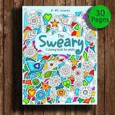 Sweary coloring book  30 PagesSwear Words  by edwinamcnamee