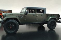 Jeep Crew Chief 715 concept side view