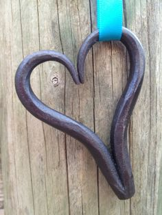 Hand Forged Metal Heart. by CreativeLivesDH on Etsy, £5.00