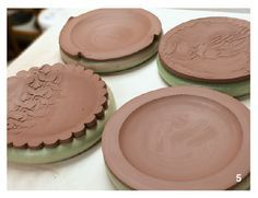 How to Make Great Slump-MOlded Plates with a Cheap Craft Store Tool by Nancy Gallagher - Ceramic Arts Daily & Rice in stockings: Great way to make soft molds for throwing your ...