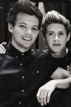 omg niall+louis=me having a heart attack