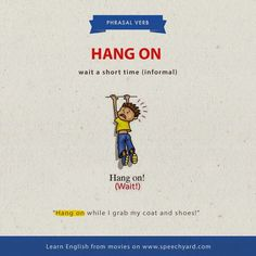 Here we'll be collecting in alphabetical order different phrasal verbs and their meaning with an example:                           ...