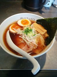 "You can eat flesh noodle in Tokyo named ""Soranoiro""!"