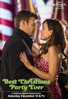 Best Christmas Party Ever on @hallmarkchannel tonight!