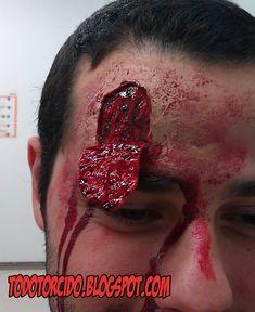 """todotorcido: Tutoriales de """"Como hacer heridas falsas""""--"""