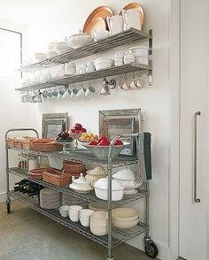 Creative Kitchen Storage Ideas From Pinterest