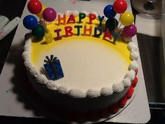 DQ cakes...Dairy Queen Birthday candles