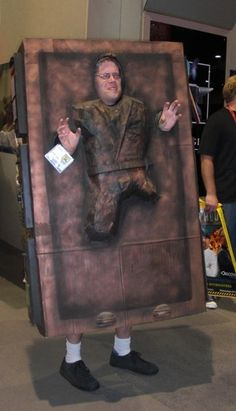 awesome halloween costume! (until you gotta drive, go to the bathroom, or drink)