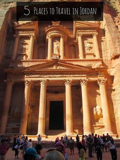 5 Places to Travel in Jordan