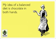 Can you relate? ;) Happy Friday #FairTrade-rs! http://BeFair.org/ #BeFair #chocolate #fun #funny #TGIF