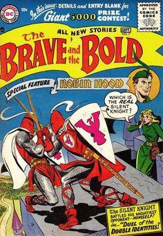 When Titans Clash! Brave and the Bold 7 (VG+ Dc Comic Books, Comic Book Covers, Comic Art, Brave And The Bold, Be Bold, Joe Kubert, George Perez, Fiction Stories, Fantasy Comics