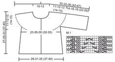 """BabyDROPS 20-12 - Giacca DROPS ai ferri, lavorata da lato a lato, a punto legaccio, con motivo traforato, in """"Baby Merino"""". - Free pattern by DROPS Design"""