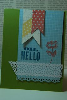 Dawn Bourgette Stampin` Up! Demonstrator Spring and Sale A Bration 2013