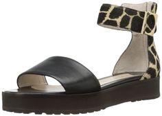 10 Crosby Women's Dyls Platform Sandal,Black/Camel,10 M US - The price dropped 20% #frugal #savingmoney