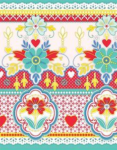 Catalina Estrada Encaje Wallpaper Border   1280100   £45.00