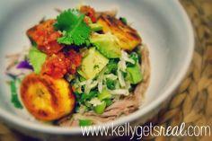 kelly gets real: pulled pork {not} tacos {paleo}