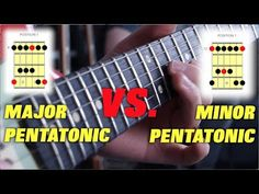 The Difference Between Major and Minor Pentatonic Scales Guitar Scales, Guitar Chords, Pentatonic Scale Guitar, Guitar Patterns, B Minor, Music Theory, Live In The Now, Breakup, Blues
