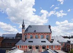 Artothèque | l'escaut Facade, Mansions, Architecture, House Styles, City, Building, Places, Home, Arquitetura