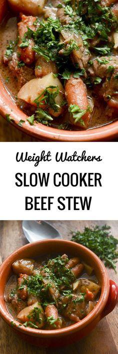 Weight Watchers Slow Cooker Beef Stew