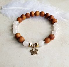 Open Your Heart Chakra Bracelet with Fragrant by InnerFireJewelry, $24.00