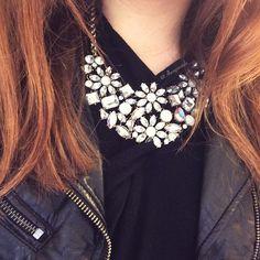Vintage-inspired Pretty Flowers Statement #Necklace 18,90 € #happinessbtq