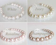Set de joyería nupcial perla boda joyería conjunto perlas