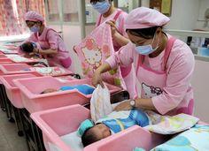 Hello Kitty Maternity Ward... :)