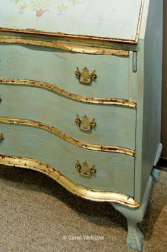 Gold Leaf Paint Furniture ... More Gold Silver Leaf Painted Projects Gold  Leaf Furniture .