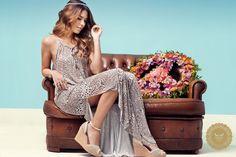 Oh my Good!!!  Camisola longa #dress #long #today