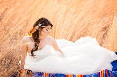 Choctaw Nation Bridal Session