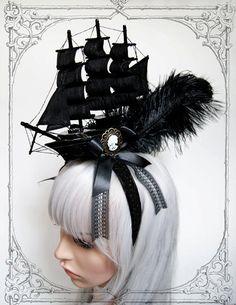 Black Unicorn Shop: Pirate Ship Headdress