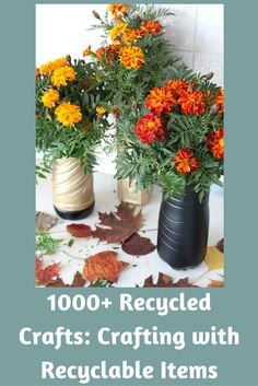 Time to empty that recycle bin...right into your craft room!� With our amazing collection of 1000+ recycled crafts, you'll find hundreds of uses for Mason jars, toilet paper rolls, egg cartons, paper plates, and even old sweaters!�